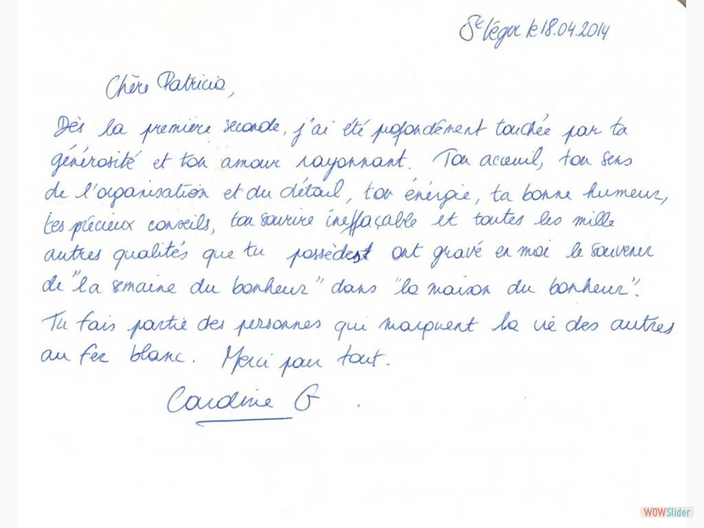 Livre d'or - 18/04/2014