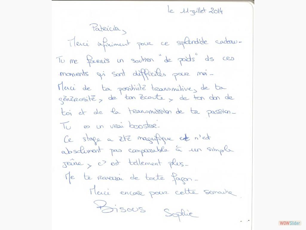 Livre d'or - 11/07/2014